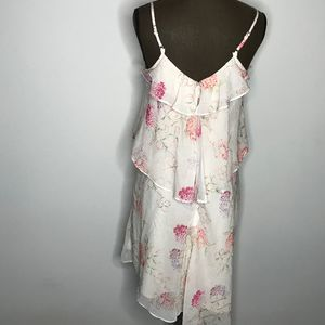 A New Day Multi Floral Print Dress